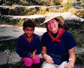 Em & Nepali girl