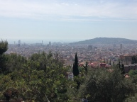 View from Parc Guell