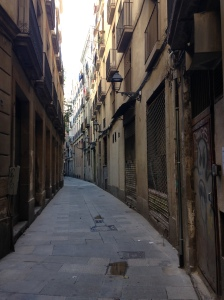 There are hideaway streets...