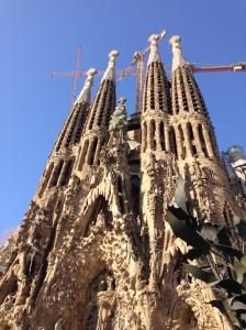 Sagrada Familia-Gaudi