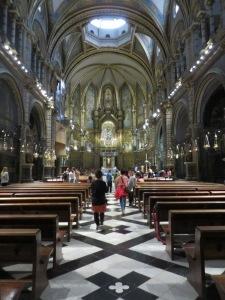 Basilica at Monserrat