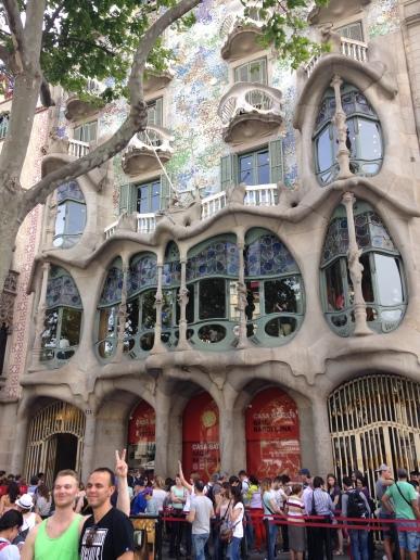 Architect Gaudi's premier work