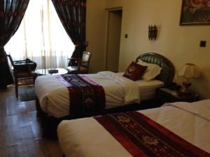 Hotel Room in Tehran