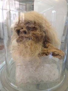 Salt man...1700 years old...i wish I was as preserved!