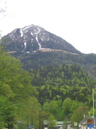 Looking towards Eagles Nest in Germany