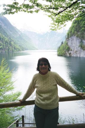 Trip Pic- Em at Kings Lake germany