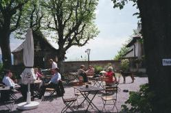Trip Pic- Outdoor cafe in salzburg
