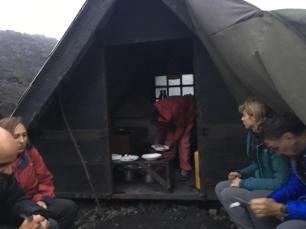dinner tent