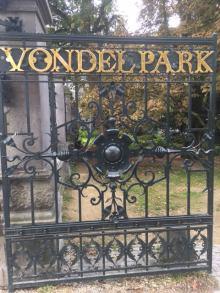 vondel park gate